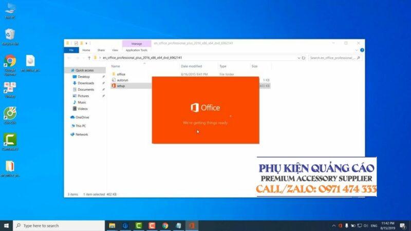 Tải, download phần mềm Office 2016 Professional Plus full key không cần crack, link Google Drive. Hướng dẫn cài đặt chi tiết.